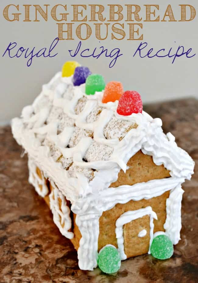 Gingerbread House Royal Icing Recipe