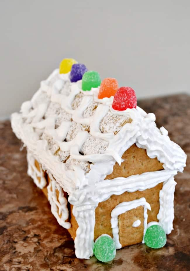Graham Cracker Gingerbread House