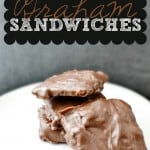 Peanut Butter Graham Sandwiches