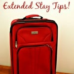 Staying organized in a hotel room! Extended Stay Tips!!