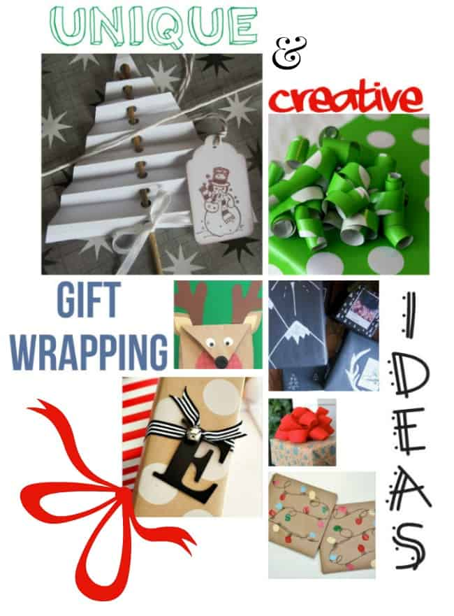 Unique & Creative Gift Wrapping Ideas