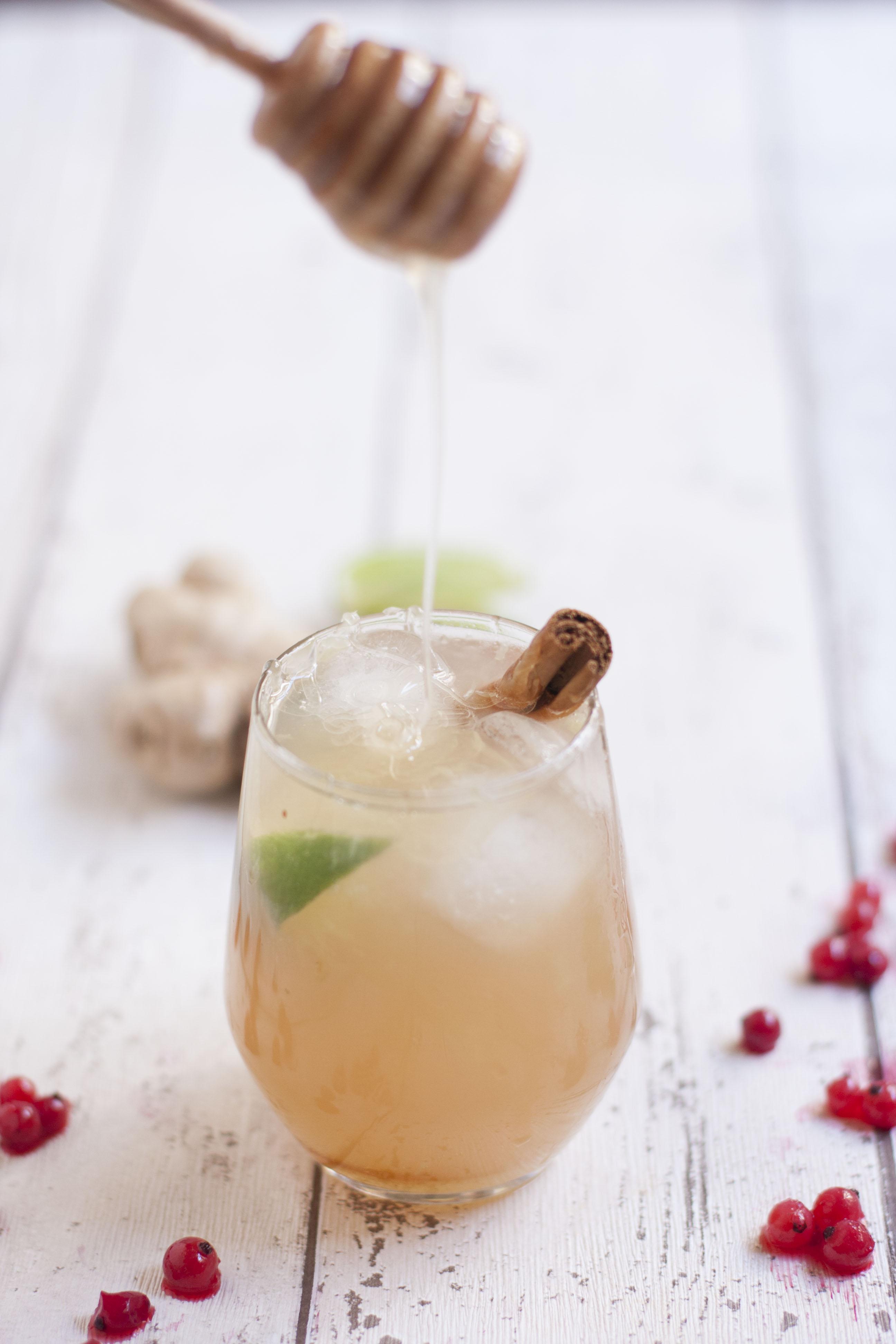 Ginger Honey Mocktail