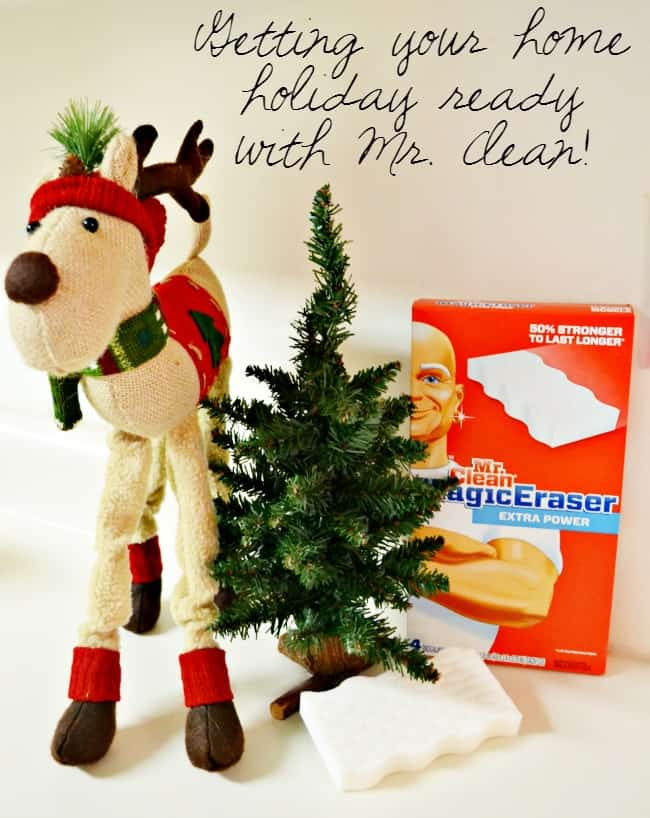 Getting your home holiday ready with Mr. Clean! #MrCleanMillion