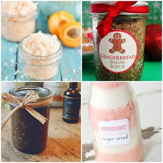 Homemade Beauty Gift Ideas: Body & Face Scrubs