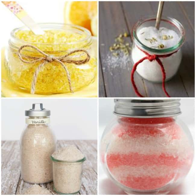 Homemade Beauty Gift Ideas: Bath Salts