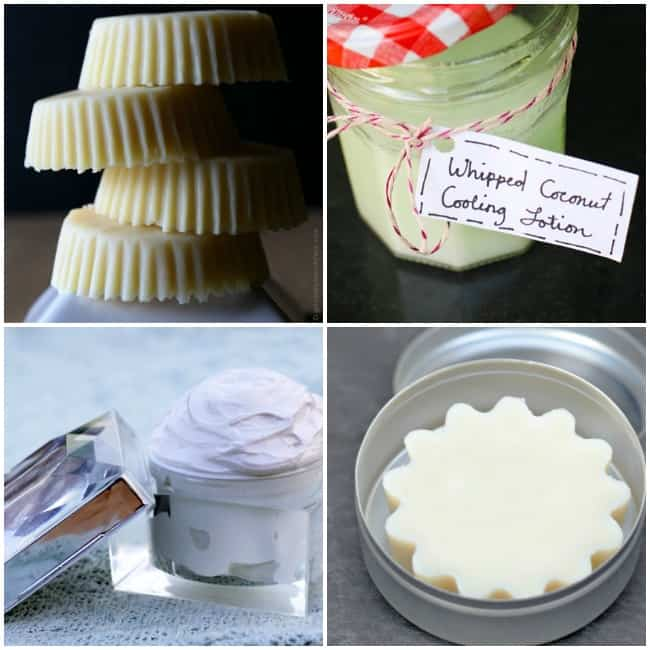 Homemade Beauty Gift Ideas: Lotion Bars & Butters