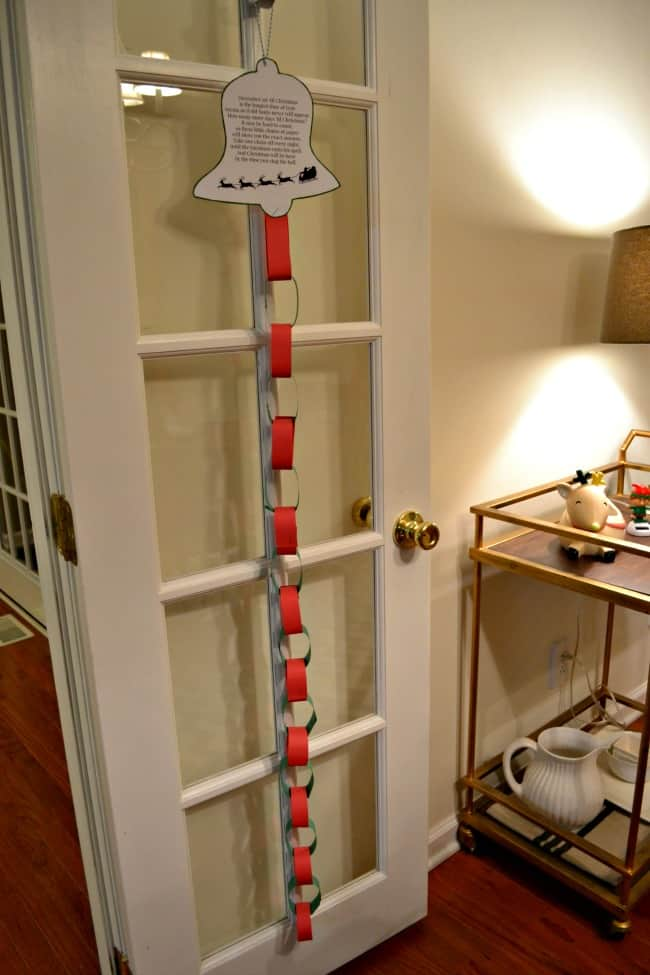 Paper Chain Advent Calendar