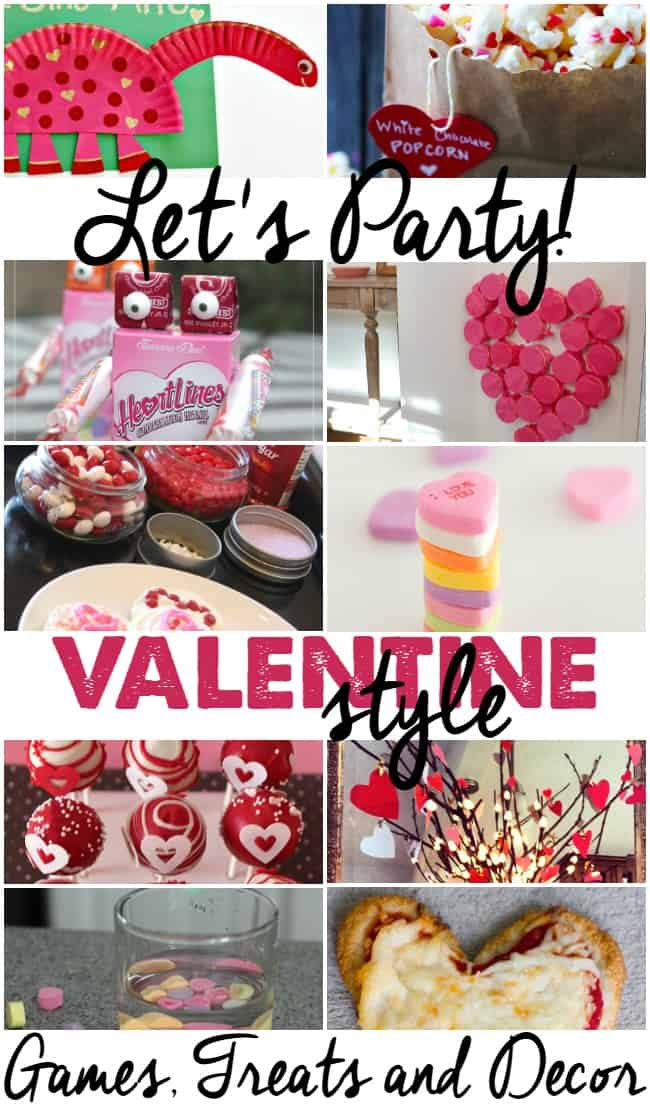 These party ideas for Valentine's Day are perfect for your special holiday celebration. Loads of fun games and treat ideas.