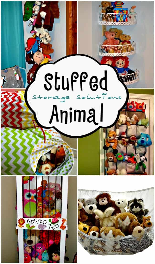 They may be cute and cuddly but they're taking over your house. Now is the time to organize and corral your child'sstuffed animal collection with these smart, stylish and geniusstuffed animal storageideas.