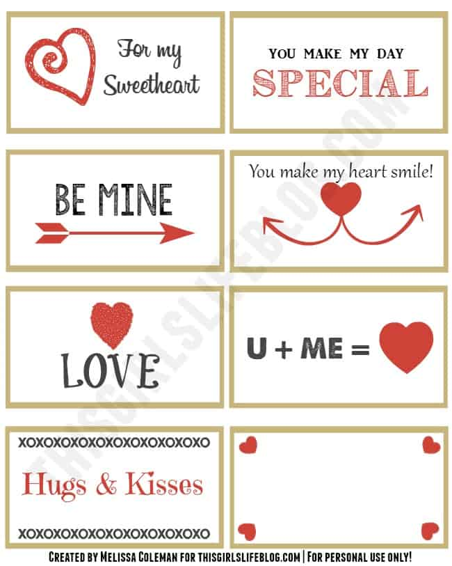 valentine's day mailboxes + free printable love notes. valentine's, Ideas