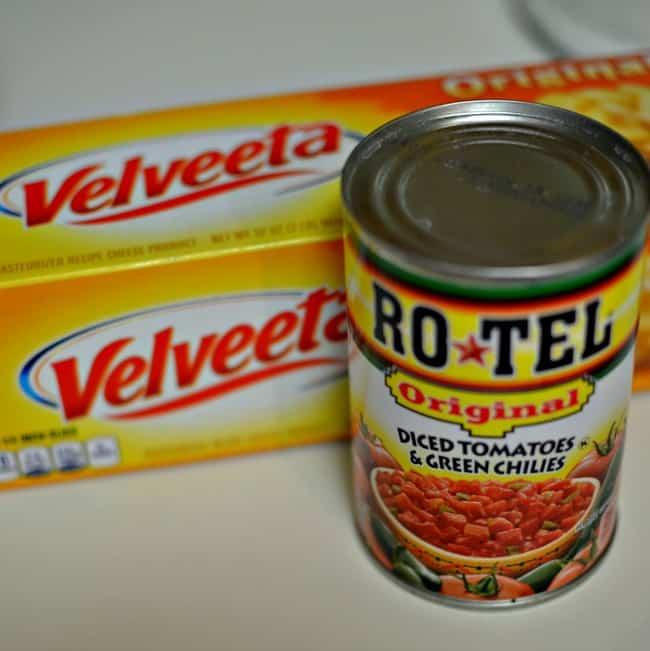 Rotel and Velveeta Queso