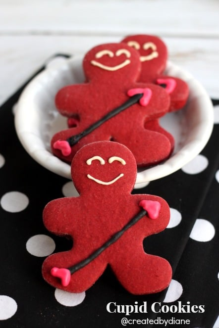 Valentine's Day Cupid Cookies