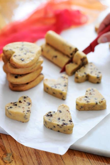 Heart Shaped Cookies - Made the Easy Way!!