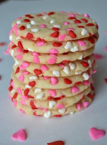 Easy Sprinkled Sugar Cookies