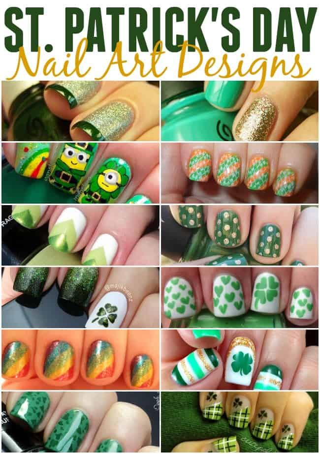 Want to wear a little good luck on St. Patrick's Day? Get pinch proof ready with these awesome St. Patrick's Day nails.