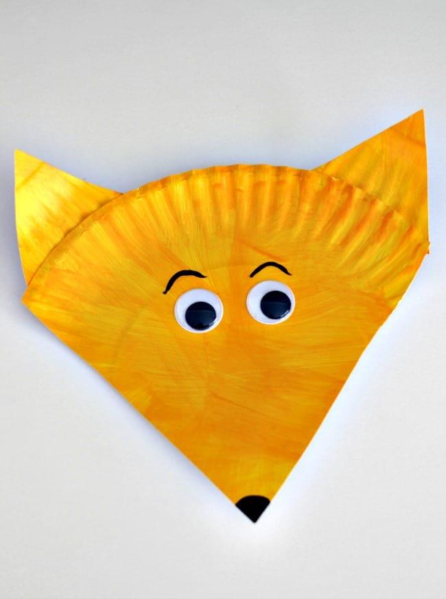 fox-in-socks-paper-plate-craft