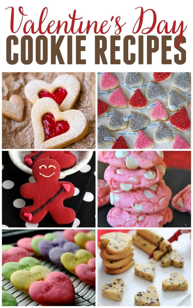 The ultimate way to say I love you is by making a batch of one of these homemade Valentine's Day Cookie Recipes.