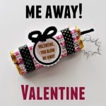 Make this cute Valentine treat for your loved one or your kids classmates. Super cute and easy!