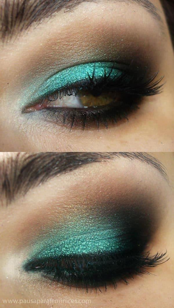Go Green Green Eyeshadow Looks