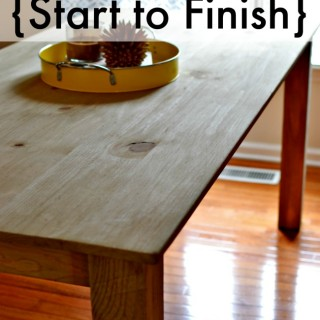 Getting a DIY project done from start to finish.