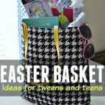 Looking for ways to treat your tween or teen this Easter? How about try these basket filler ideas.