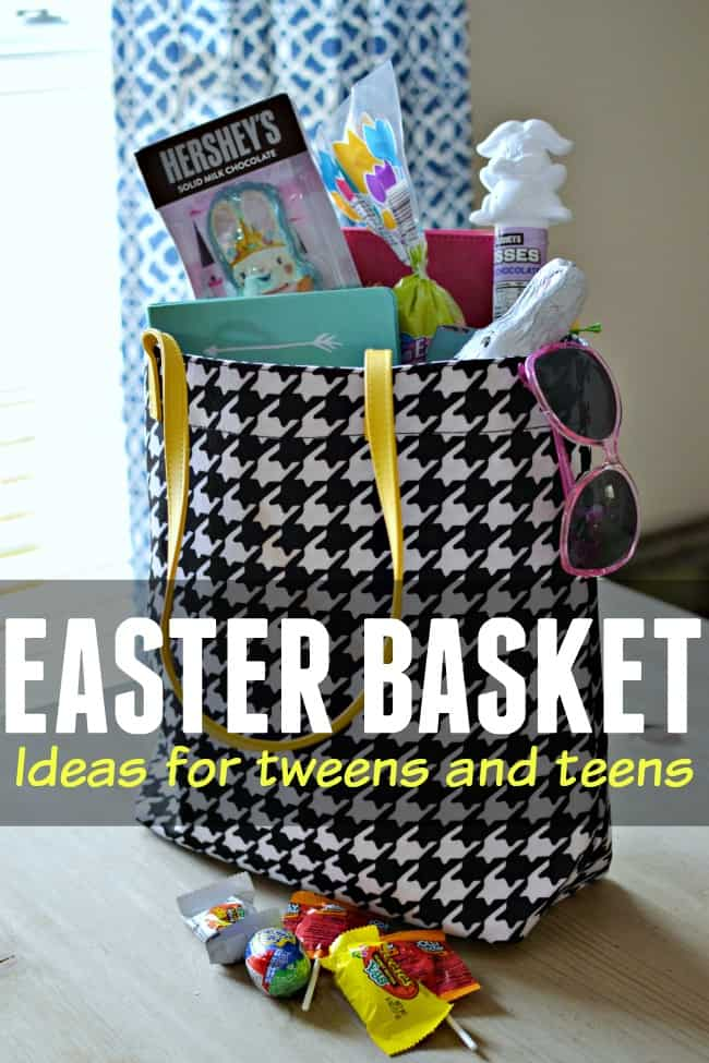 Looking for Easter basket ideas for tweens and teens? How about trying these basket filler ideas. Great ideas for girls and boys! #EasterBasketIdeas #EasterBasketIdeasforTweens #EasterBasketIdeasforTeens #Easter