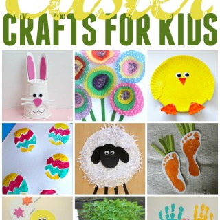 Spend some time crafting with your kids this weekend with these fun Easter crafts. All easy and simple, perfect for kids.