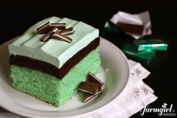 Creme De Menthe Recipes Cake
