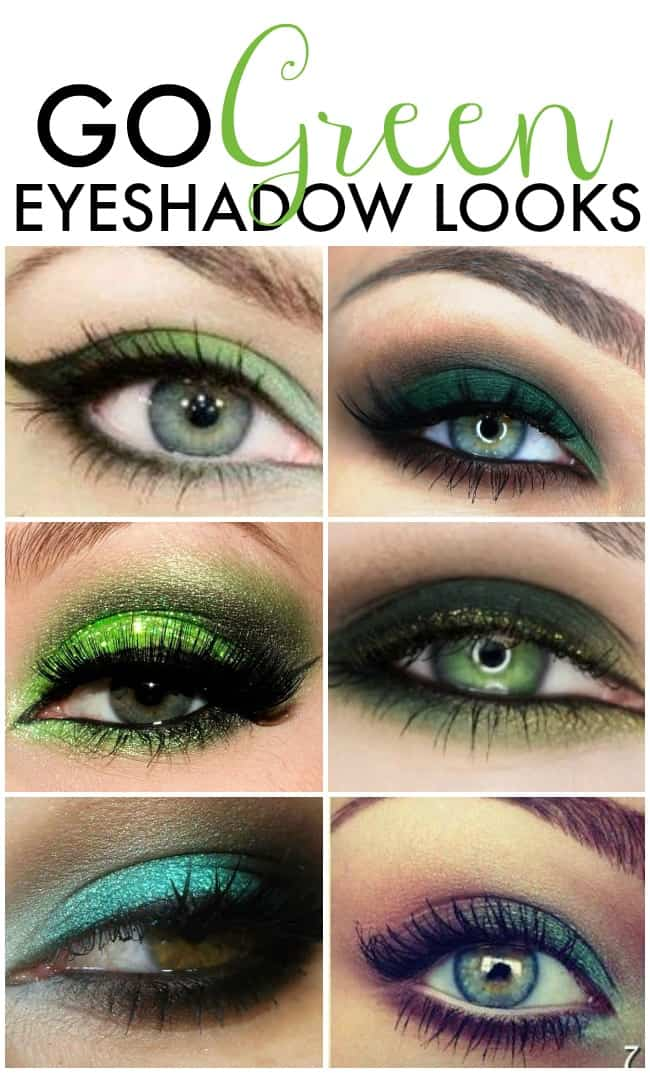 You don't want to get pinched so go green this St. Patrick's Day with one of these super sexy and fun green eyeshadow looks.