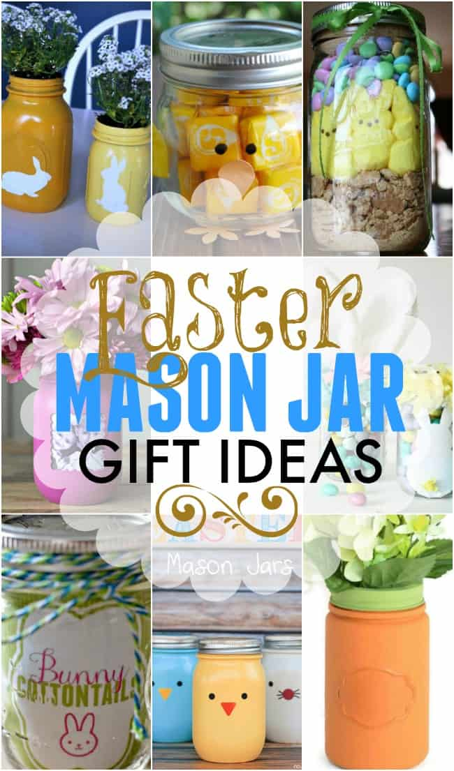 Easter mason jar gift ideas negle Gallery