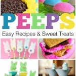 So many cute and fun Peeps recipes and sweet treats. Love all of these ideas for Easter.
