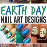 Looking for a fun and simple way to celebrate our beautiful Earth. How about try out one of these creative earth day nails.