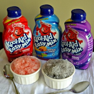 The easiest and quickest way to make snow cones right at home.