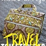 Find out what essentials you need for your travel toiletry bag!
