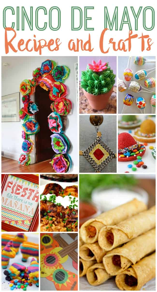 Celebrate Cinco de Mayo with these fun craft ideas and delicious recipes.