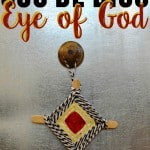 Create this Cinco de Mayo craft with your kids. Making a Ojo de Dios (Eye of God) craft is simple and easy. Love the beautiful colors!