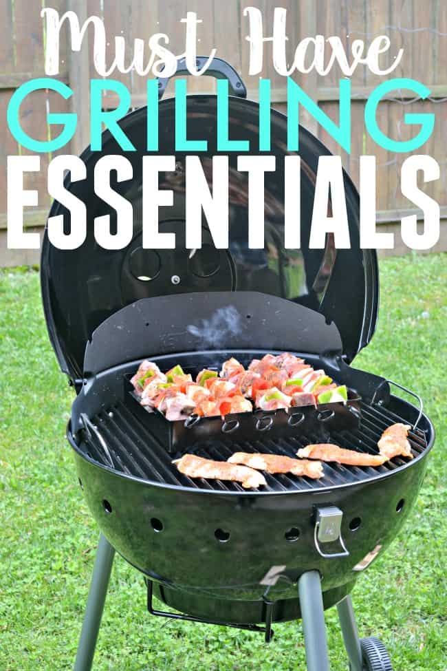 Get these grilling essentials in order to be summer ready for your bbq experience.