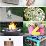 Concrete is such a inexpensive media to use to create so many fun things. How about trying out one of this DIY concrete projects today.