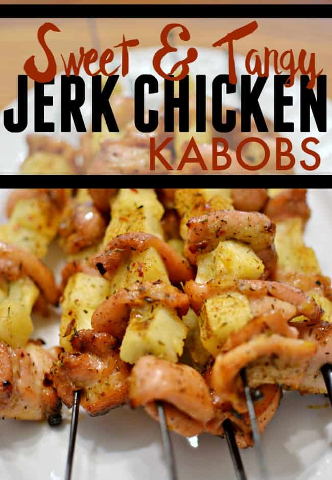 If you love a little kick during meal time then definitely give these jerk chicken kabobs a try.
