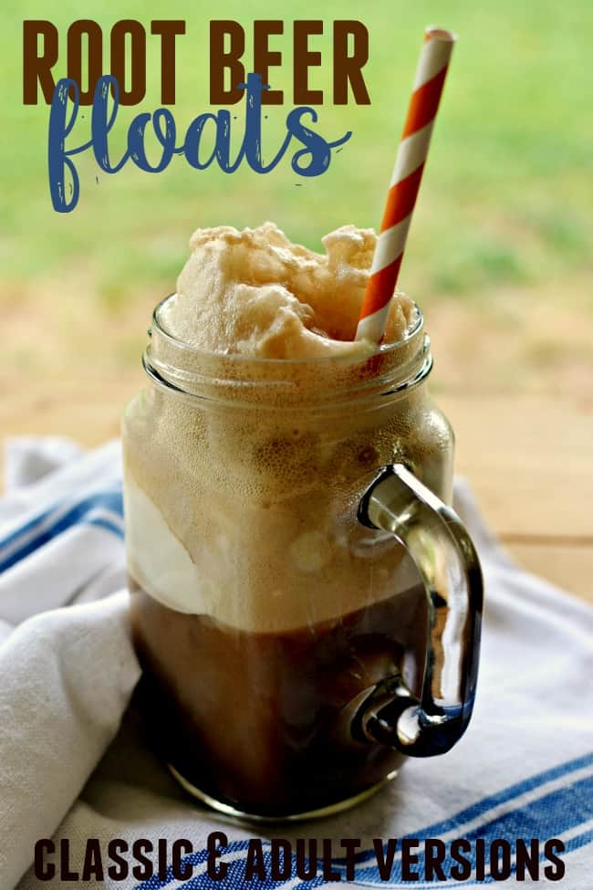 You can't have a summer without having a classic root beer float. If your an adult try out the adult version too.