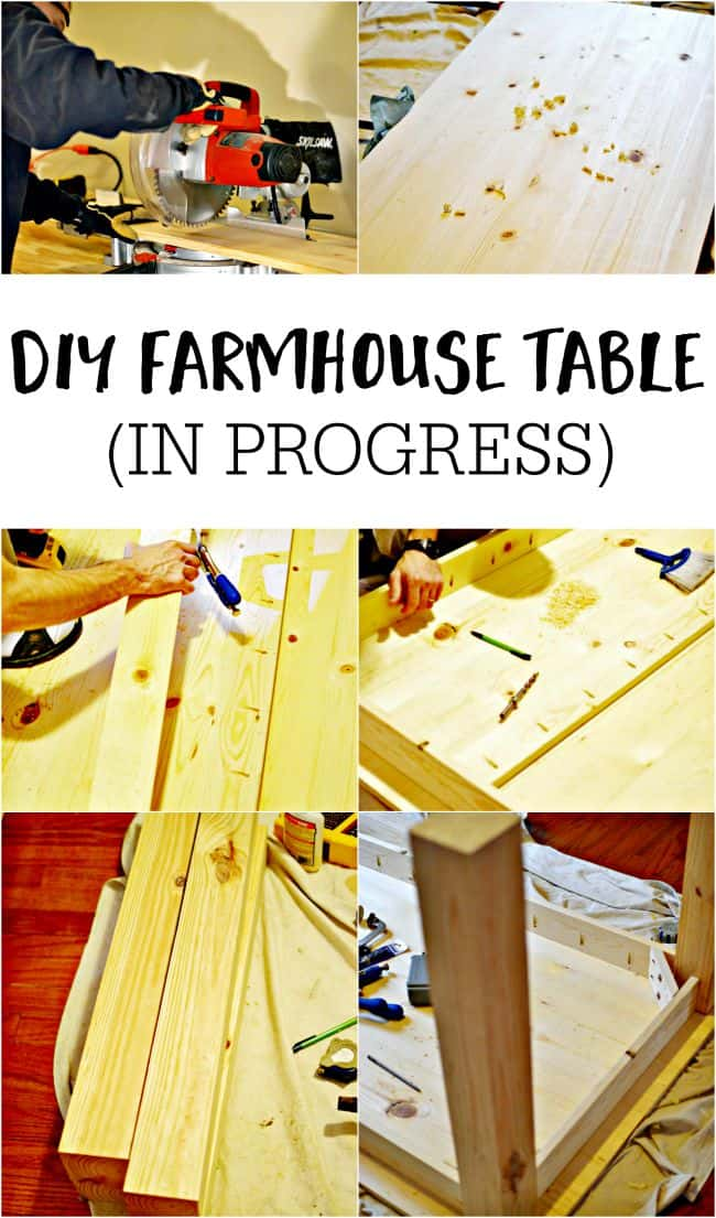 Build a farmhouse table to fit your perfect spot.