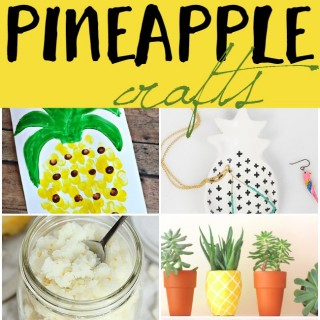 If you have been wanting to hop on the pineapple trend wagon then you should definitely check out these awesome diy pineapple crafts.