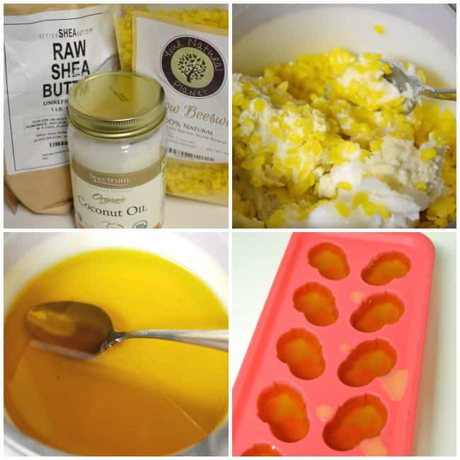 Love these easy to make, 3 ingredient lotion bars. Perfect to remedy dry skin. Plus you can add any of your favorite smelling essential oils.