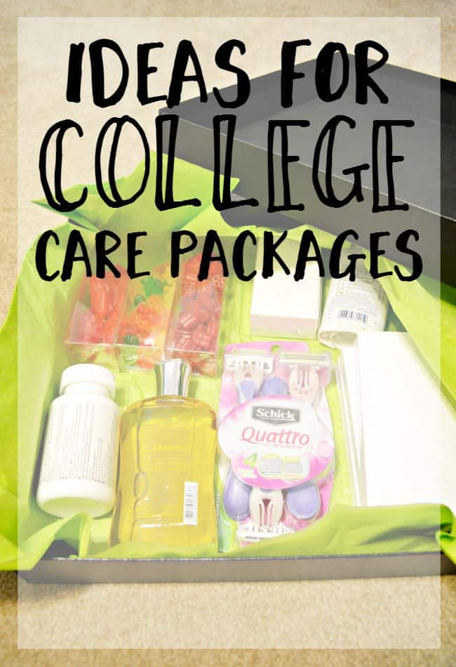 Check out these ideas for college care packages to get your kid on track for a great first or new year of college.
