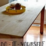 Have you ever wanted to build your own farmhouse table? Check out this one, super easy design.