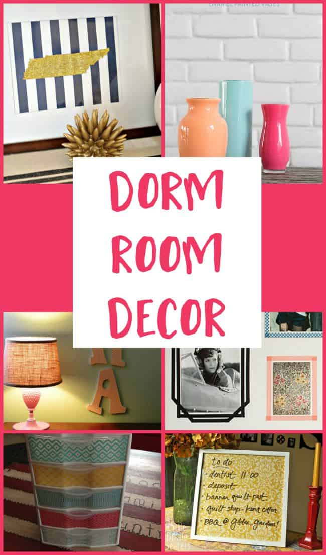 Head to college or back to college with these easy and budget friendly ways to decorate your dorm room.