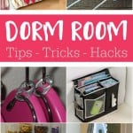 These are great tips, tricks and hacks if you are headed to college. Also great for a tight budget even if you don't have a dorm room.