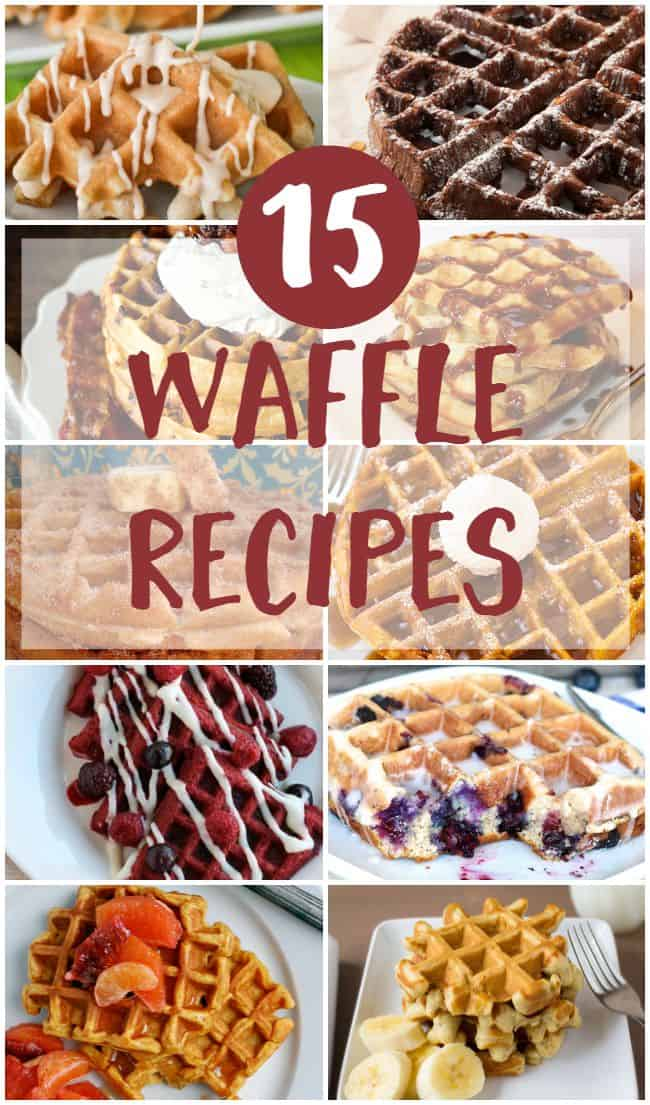 Waffles are the perfect crispy on the outside and warm and fluffy on the inside. Hook up your breakfast with one of these tasty recipes.