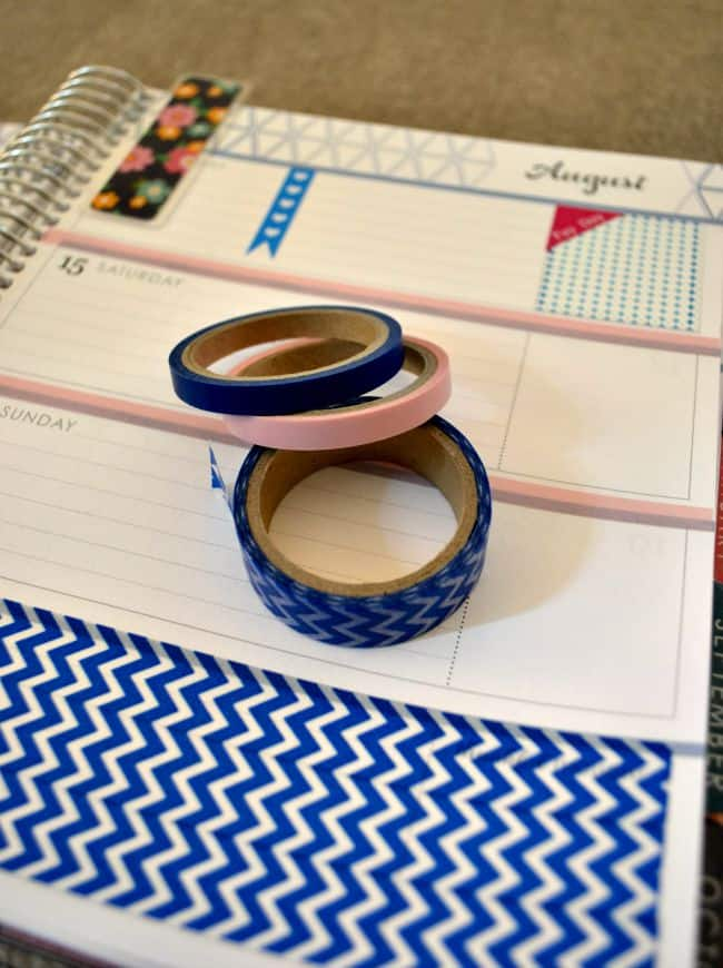 washi-tape-planner