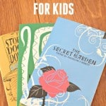 50+ awesome chapter books for kids. Lots of great classics included.